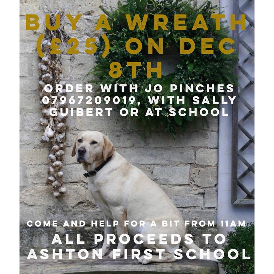 PFA Wreath Ring Making session @ Ashton under Hill Village Hall