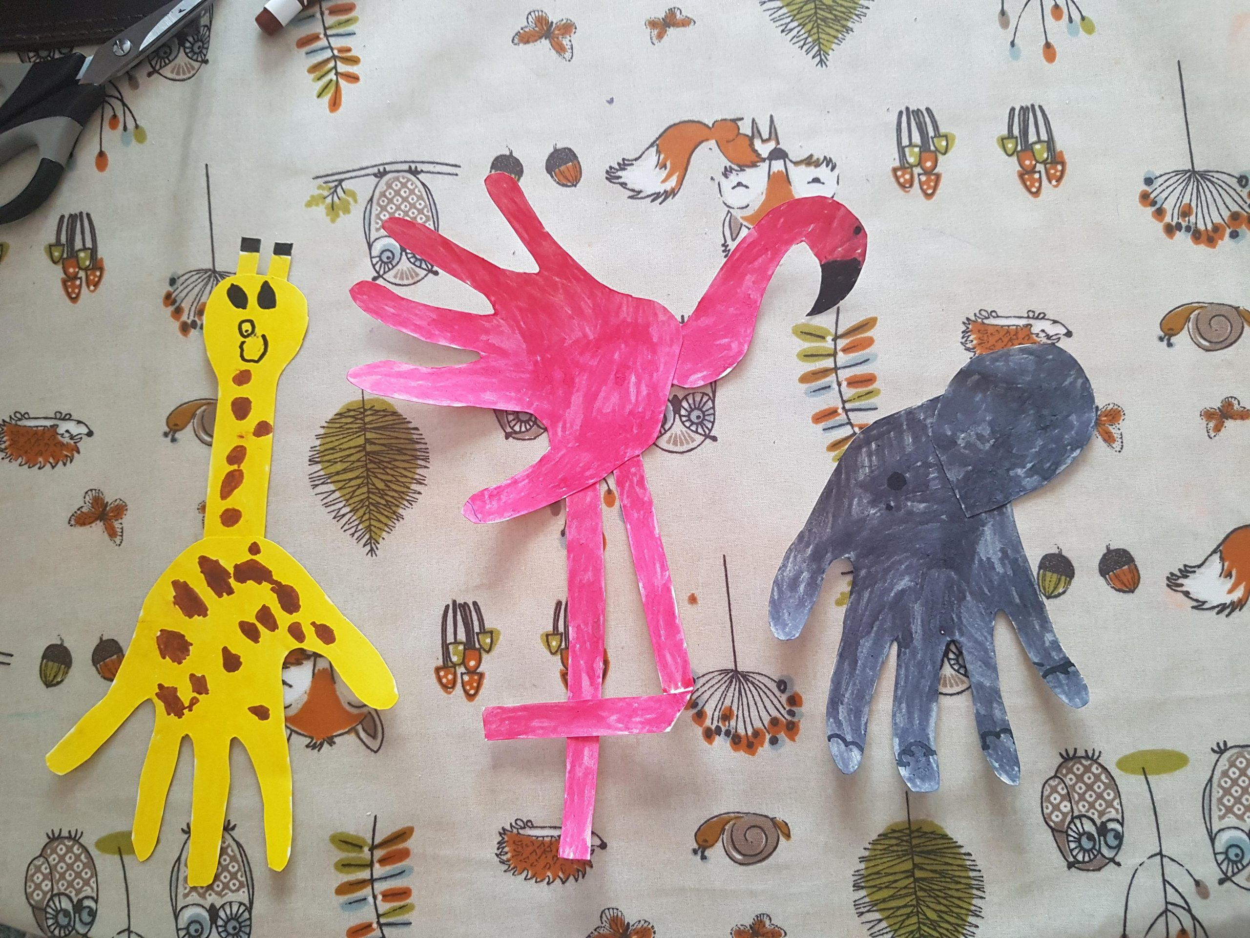 Our Animal Handprint gallery