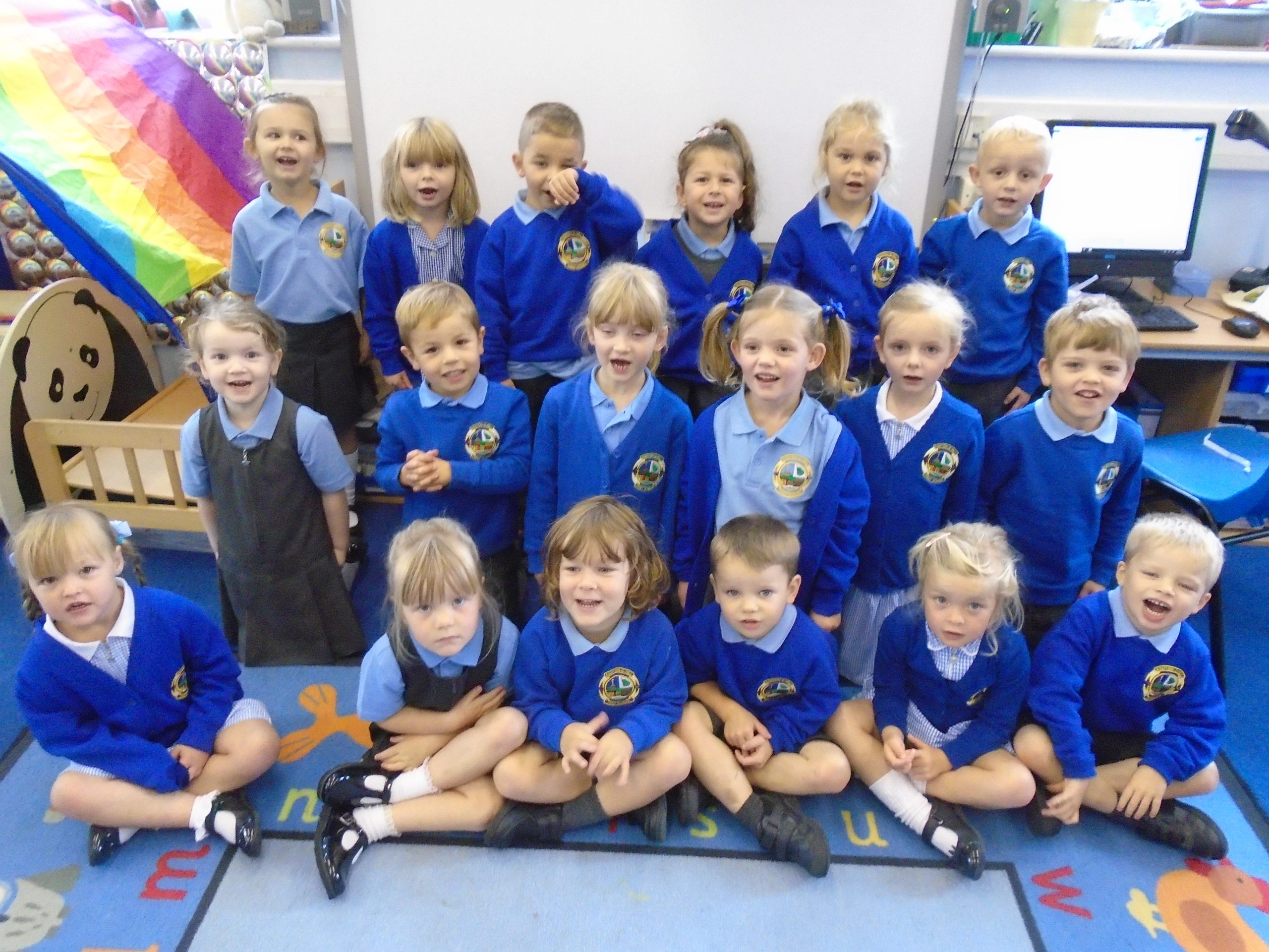 Welcome to all our little people in Acorn Class